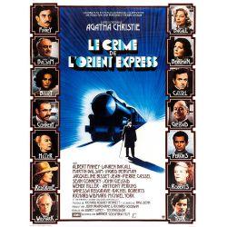 Le Crime de l'Orient Express (de Sidney Lumet) affiche film