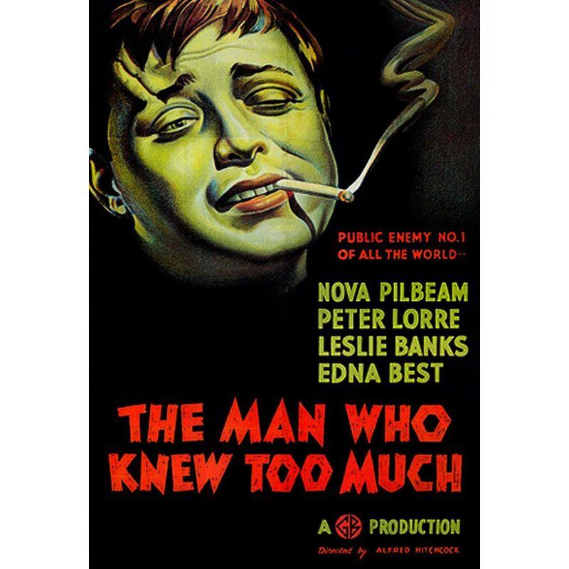 L'homme qui en savait trop (Alfred Hitchcock) 1934 - affiche film