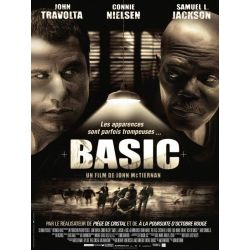 Basic (John Travolta) affiche film