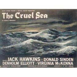 Mer Cruelle (de Charles Frend) affiche film