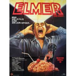 Elmer le remue-méninges (Brain Damage) affiche film