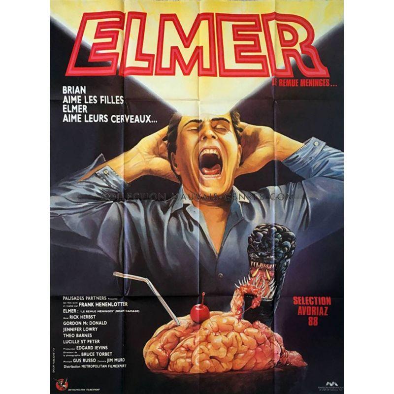 Elmer le remue-méninges (Brain Damage) affiche film
