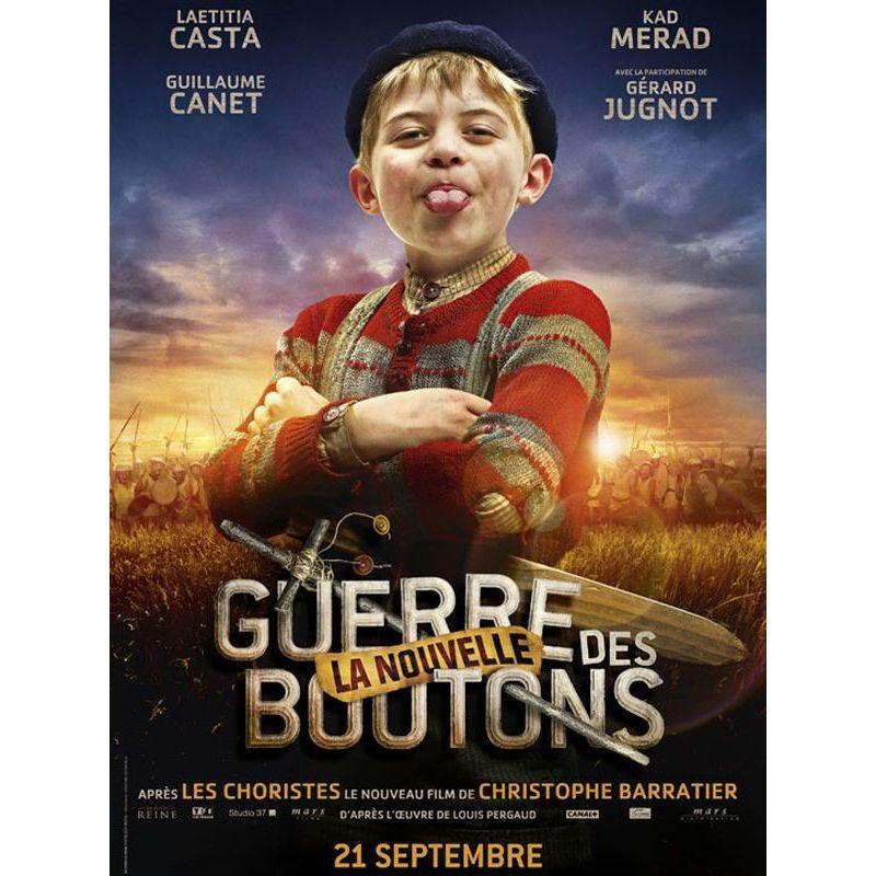 La Nouvelle Guerre des boutons (de Christophe Barratier) affiche film