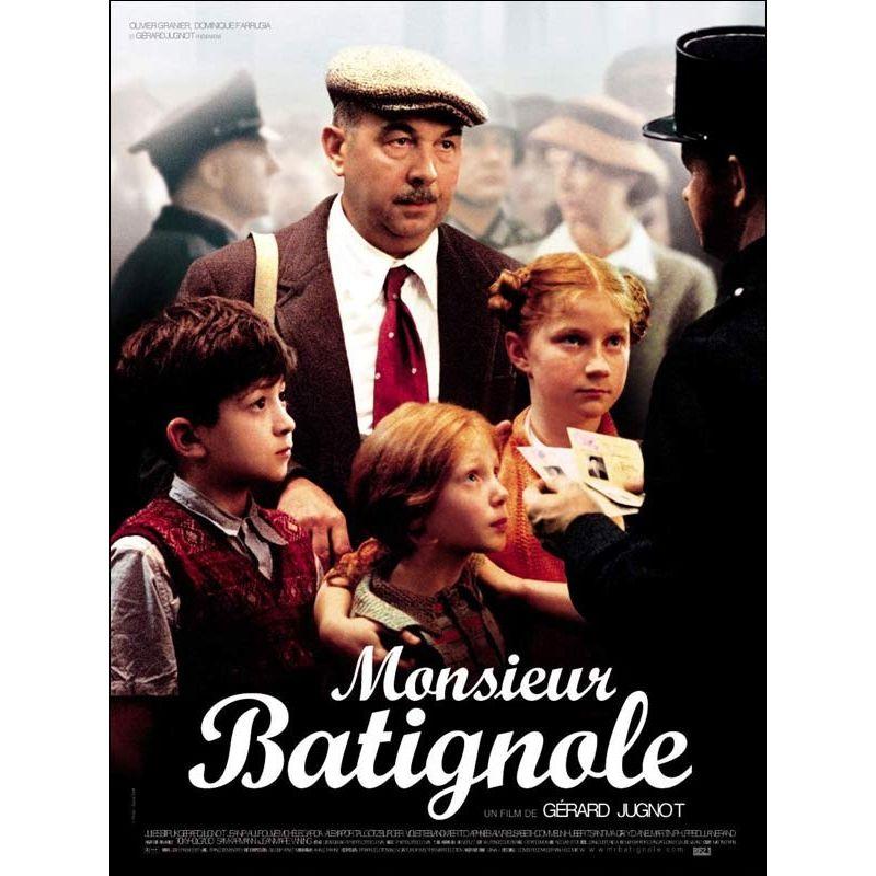 Monsieur Batignole (Gérard Jugnot) affiche film