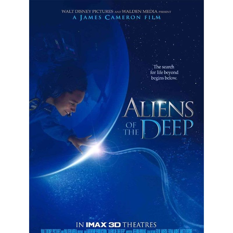 Aliens of the Deep (James Cameron, Steven Quale) - DVD Zone 2