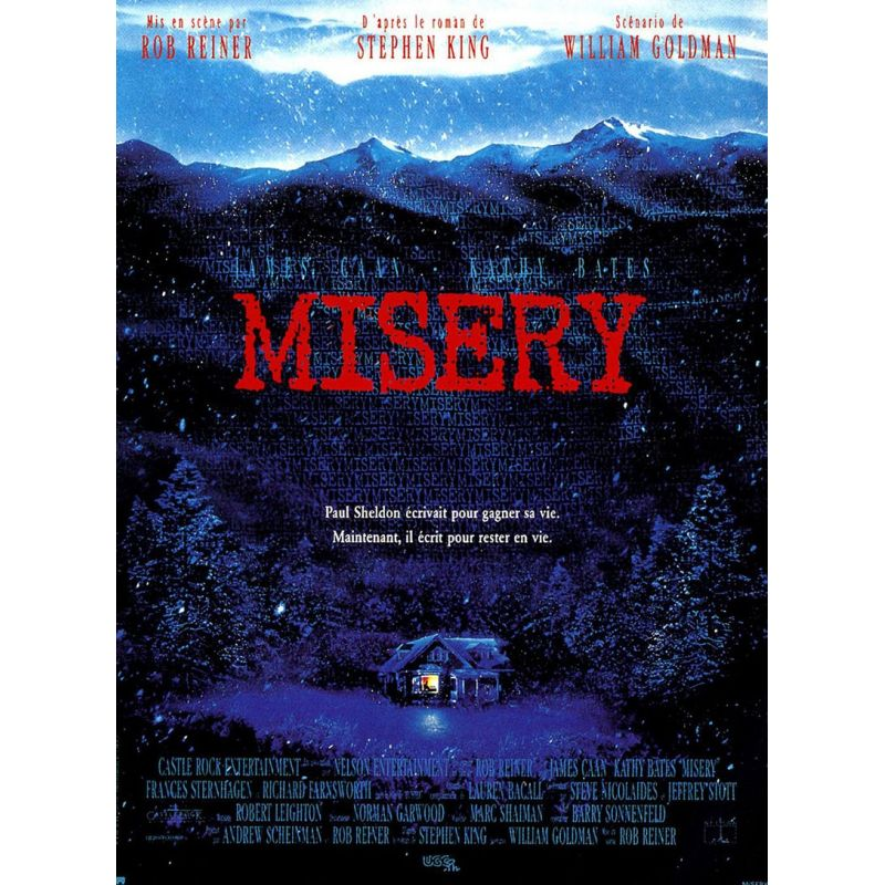 Misery (de Rob Reiner) affiche film