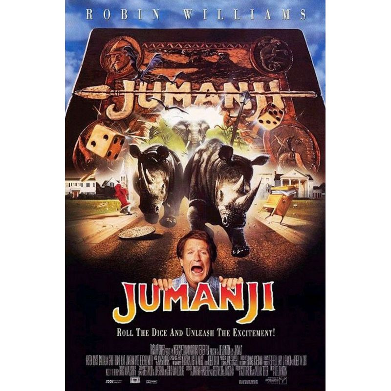 Jumanji (Robin Williams) affiche film