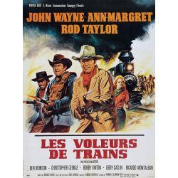 affiche film Les Voleurs de Train (John Wayne)