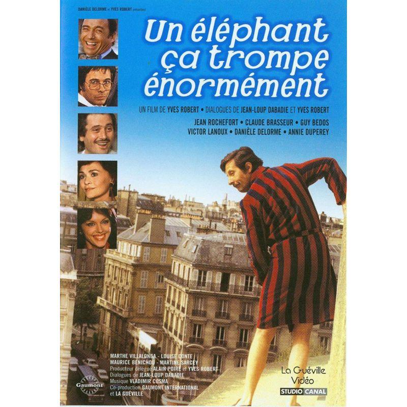 affiche film Un éléphant ça trompe énormément (un film de Yves Robert)
