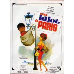 affiche film Un Idiot à Paris (un film de Serge Korber)