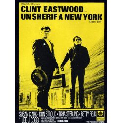 affiche film Un Shérif à New York (Clint Eastwood)