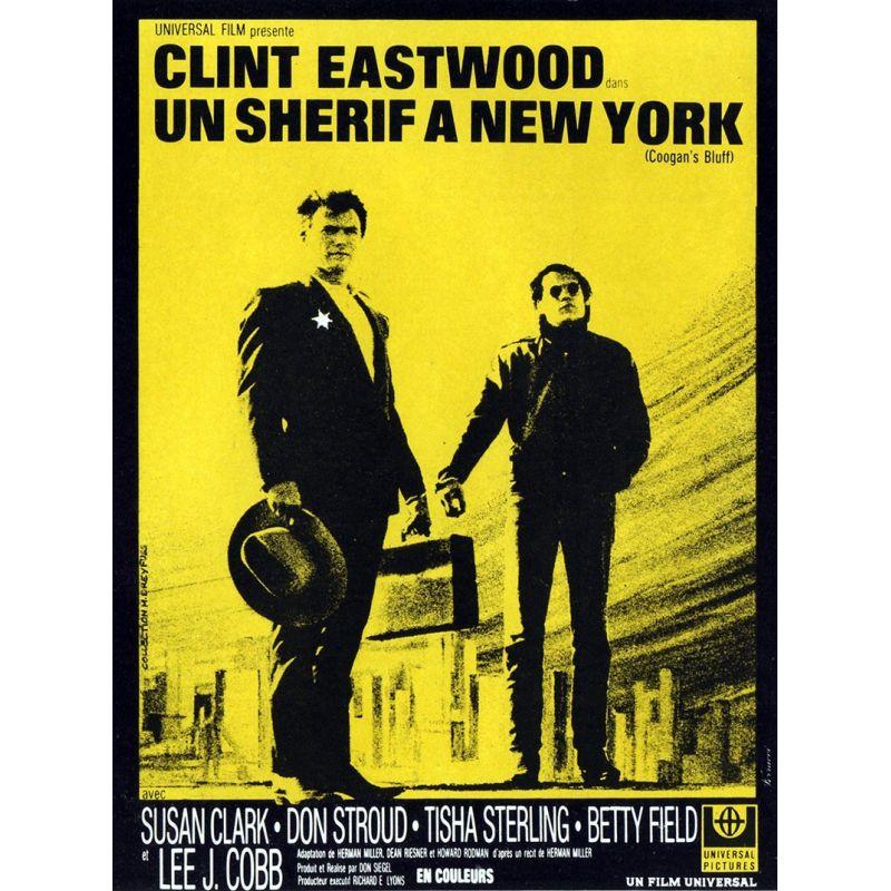 affiche film Un Shérif à New York (Clint Eastwood)