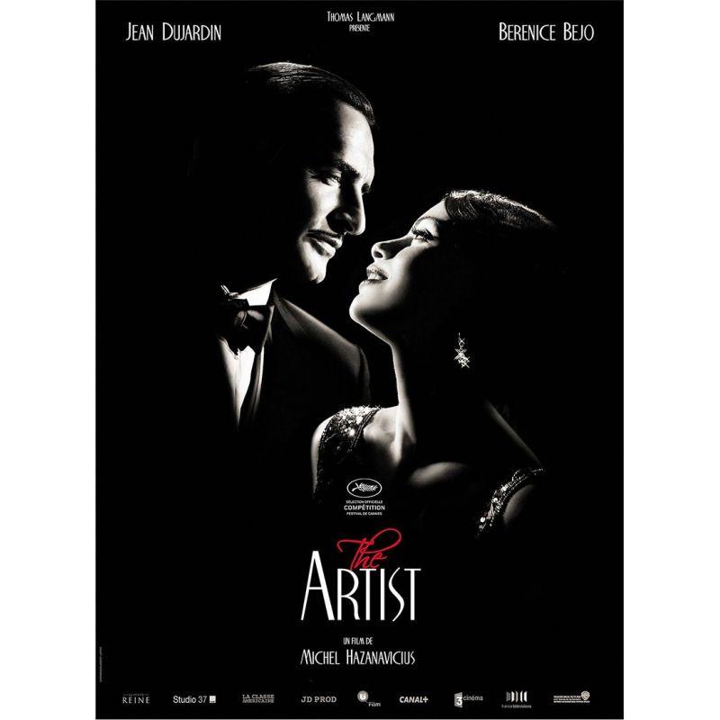 affiche film The Artist (Jean Dujardin & Berenice Bejo)