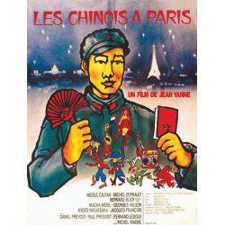 affiche film Les Chinois à Paris (Jean Yanne)