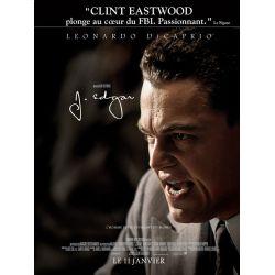 affiche film J. Edgar (Leonardo DiCaprio)