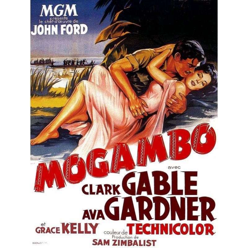 affiche film Magambo (Clark Gable & Ava Gardner)