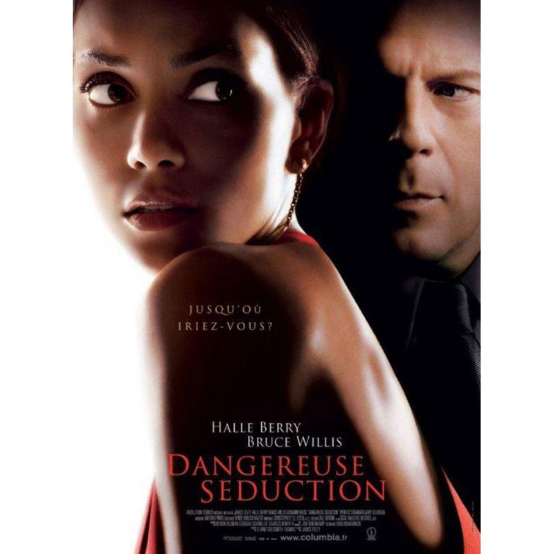 affiche  film Dangereuse Séduction (Halle Berry & Bruce Willis)