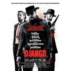 Affiche film Django Unchained (Quentin Tarantino)