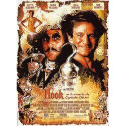 Affiche film Hook, ou la revanche du Capitaine Crochet (de Steven Spielberg)