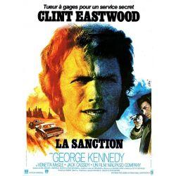 Affiche film La Sanction (Clint Eastwood)