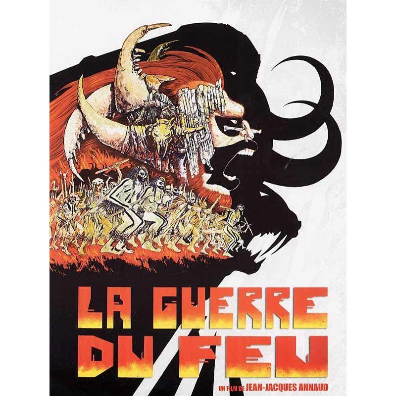 Affiche film La Guerre du Feu (Jean-Jacques Annaud)