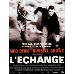 Affiche film L'Echange (Meg Ryan & Russell Crowe)