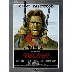Affiche film Josey Wales, Hors-la-loi (Clint Eastwood)