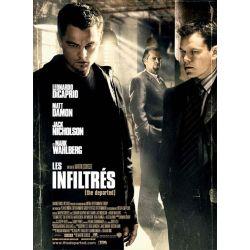 Affiche film Les Infiltrés (de Martin Scorsese)