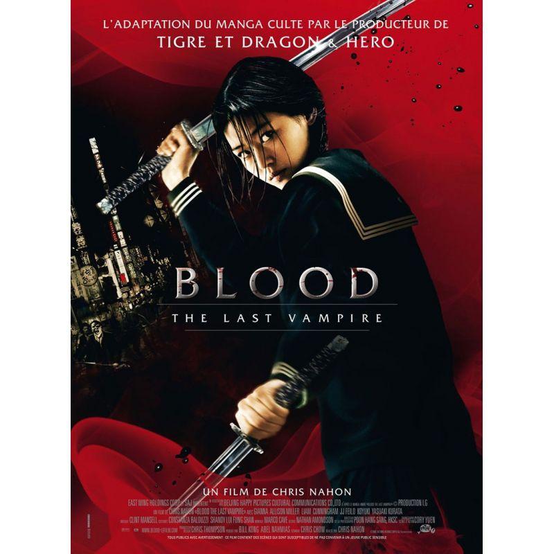 Affiche film Blood, The Last Vampire (Un film de Chris Nahon)