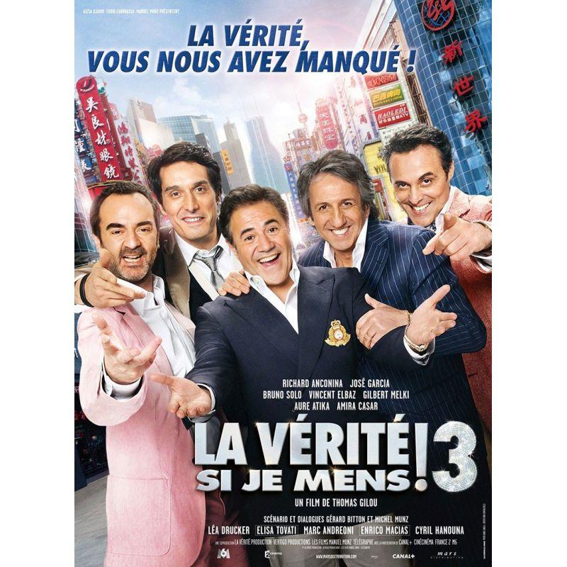 Affiche film La Vérité si je Mens 3 (de Thomas Gilou)
