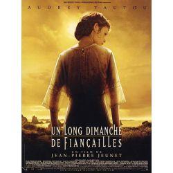 Affiche film Un Long Dimanche de Fiançailles (Audrey Tautou) de Jean-Pierre Jeunet