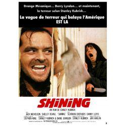 Affiche film Shining - Un film de Stanley Kubrick (Avec Jack Nicholson)