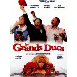 Affiche film Les Grands Ducs (de Patrice Leconte)
