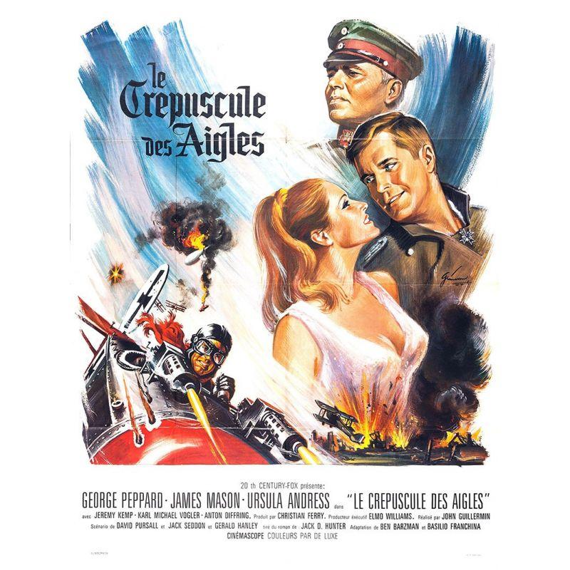Affiche film Le Crépuscule des Aigles (de John Guillermin)