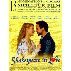 Affiche film Shakespeare In Love (de John Madden)