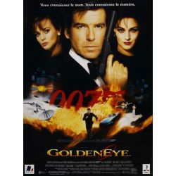 affiche film James Bond - Goldeneye