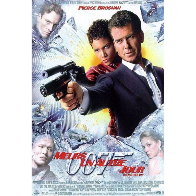 affiche film James Bond - Meurs un autre jour