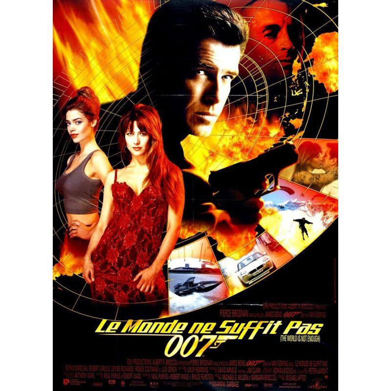 affiche film James Bond - Le Monde ne suffit pas