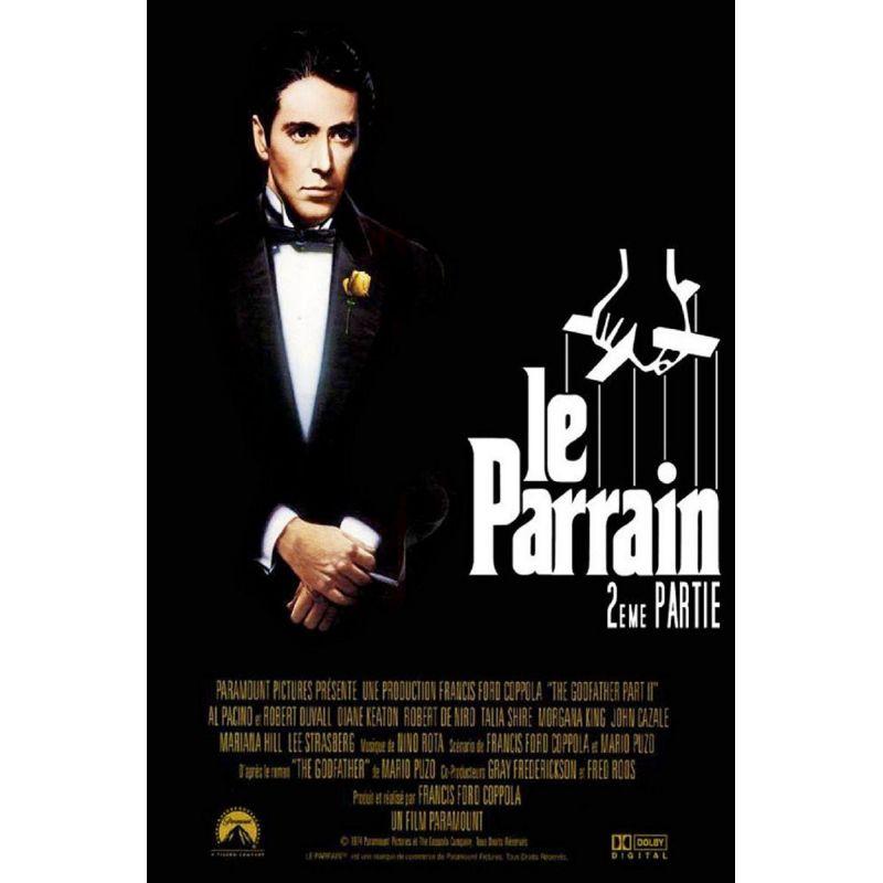Affiche  Le Parrain II (de Francis Ford Coppola)