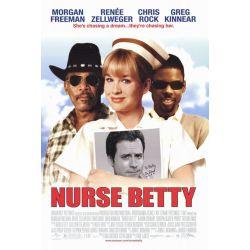 Affiche film Nurse Betty (Morgan Freeman, Renée Zellweger & Chris Rock)