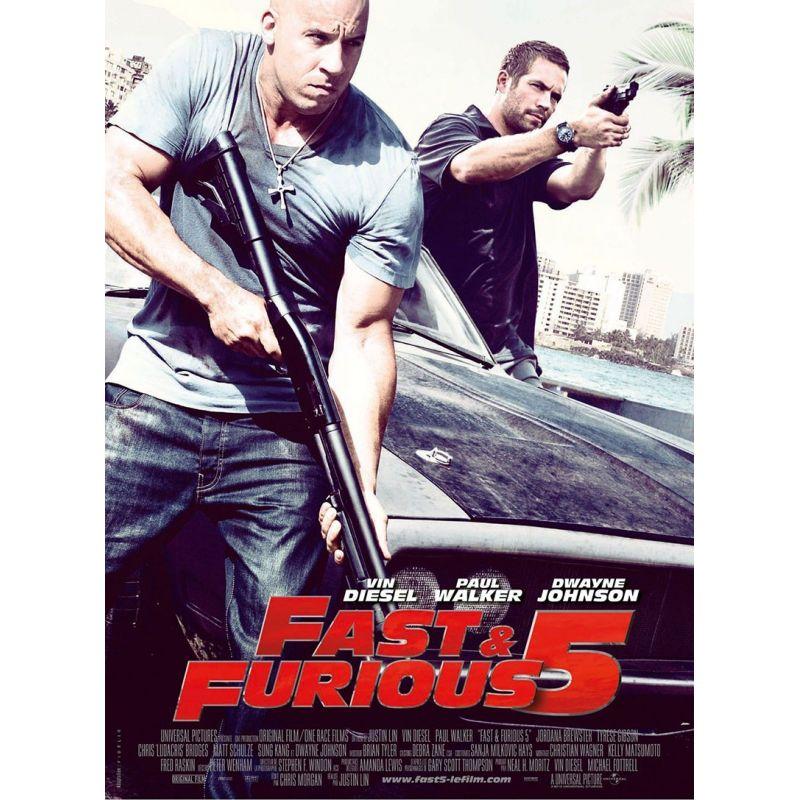 Fast & Furious 5 (Vin Diesel, Paul Walker & Dwayne Johnson)