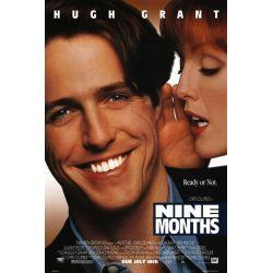 Affiche film Neuf Mois aussi (Hugh Grant & Julianne Moore)