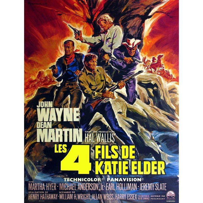 Les 4 fils de Katie Elder (de Henry Hathaway) - DVD Zone 2
