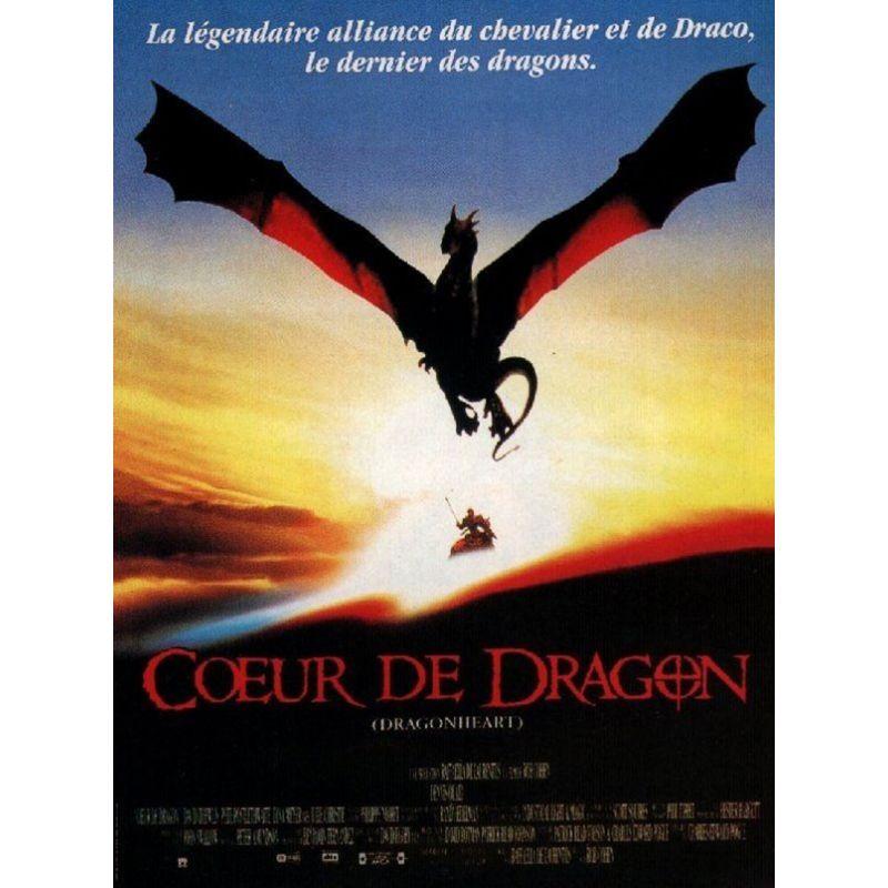 Affiche film Coeur de Dragon (Dennis Quaid)
