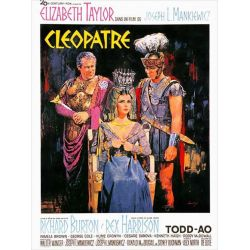 Affiche Cléopatre (de Joseph L. Mankiewicz)