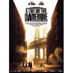 Affiche film Il Était une fois en Amérique (de Sergio Leone)