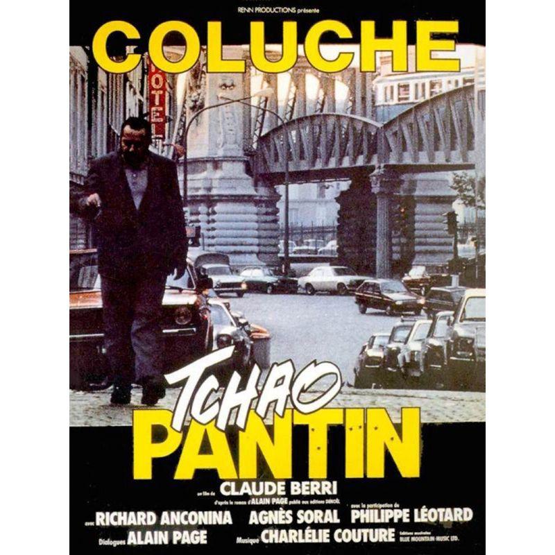 Affiche film Tchao Pantin (de Claude Berri avec Coluche)