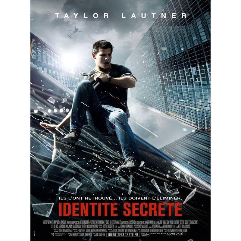 Affiche film Identité secrète (de John Singleton avec Taylor Lautner)