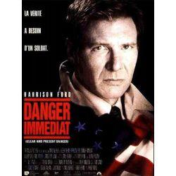 Affiche film Danger Immédiat (de Phillip Noyce avec Harrison Ford)
