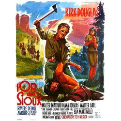 Affiche film La Rivière de nos Amours (Kirk Douglas)